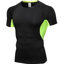 T Shirt Digital Printing Sport Australia - Zuoxiangru Running T-shirt For Men 3d Digital Printing Super Hero Short-sleeved T-shirt Sports Tights Male Quick Dry Gym Fitness