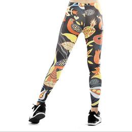 065adfc7cc Birds Leggings UK - Women Yoga trousers pants Digital printing Birds  flowers Tights Female High waist