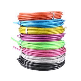 $enCountryForm.capitalKeyWord Australia - Spare Rope 3 m Crossfit Replaceable Wire Cable Speed Jump Ropes Crossfit Workout Skipping Rope Training Fitness Equipments