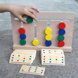 $enCountryForm.capitalKeyWord NZ - Free shipping Montessori Early education brain game Young child intelligence Development thinking training game toy young Children's teachin