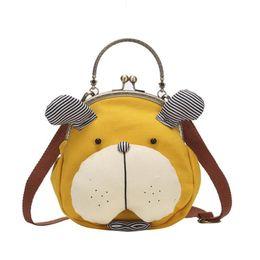 $enCountryForm.capitalKeyWord Australia - Korean Fashion Cute Shoulder Bag Tote All-Matched Small Messenger Crossbody Hand Bags Girl Mini Cartoon Canvas Bag Handbag Totes
