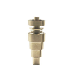 $enCountryForm.capitalKeyWord UK - Factory prices 6in1 titanium nail coil 14 18mm female and male hybrid nail for glass bong smoking