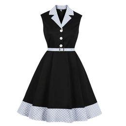 2019 Christmas Women Retro Dress Long Sleeves Floral Print Dress Belted Dress 50s 60s Vintage Rockabilly Swing Feminino Vestidos Women's Clothing