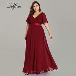 47f6c40f436 Robes courtes de mariage en ligne empire en Ligne-Robe longue taille pour  robe de