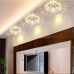 $enCountryForm.capitalKeyWord Australia - 3W 5W LED Ceiling Light Modern Crystal Lamp Corridors Porch Ceiling Lights Bedroom Bathroom Kitchen Home KTV Home Luminaria