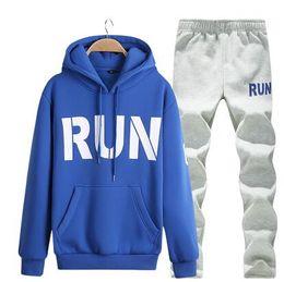 671e2d11e Joggers outfits men online shopping - Mens Casual Tracksuits Cartoon Letter  Print Sweatsuits Hommes Jogger Fit