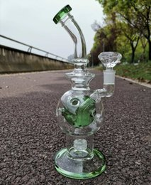 $enCountryForm.capitalKeyWord Australia - Kothy shop Glass Bong Matrix Perc Glass Recycler Water Pipes with Quartz Banger OR Bowl Fab Egg Oil Dab Rig Hookahs Pipes