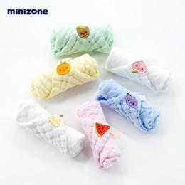 $enCountryForm.capitalKeyWord Australia - Baby gauze saliva towel baby cotton small square towel newborn gift box six-piece children soft handkerchief