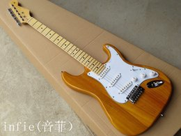 guitar stock NZ - Free shipping 2020 new Wholesale Hot New Arrive Stratocaster Electric Guitar Electric Guitar In Stock