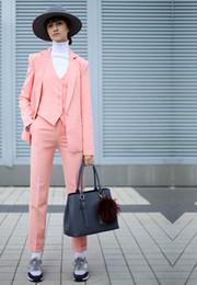 $enCountryForm.capitalKeyWord Australia - Pants suit Women suit Women Ladies Business Office Tuxedos Formal Work Wear New Fashion Suits custom made 3pcs jacket vest pants