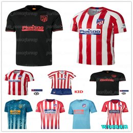 Wholesale new brand jerseys resale online – 19 Atletico Jersey madrid Brand New Soccer GRIEZMANN SAUL CORREA KOKE Kids Women Men football shirt