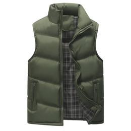 $enCountryForm.capitalKeyWord Australia - Men's Vest Winter Travel Windbreaker Coats Plus Size S-4XL Slim Fit 2019 Waistcoat Cotton-Padded Thicken Jacket for Men 1114