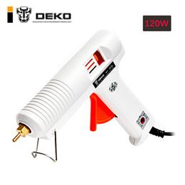 $enCountryForm.capitalKeyWord NZ - gun DEKO 120W Hot Melt Gun with 1pc 11mm Glue Stick Heat Temperature Tool Industrial Guns Thermo Gluegun Repair Heat Tools