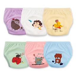 Potty Training Nappies Australia - 2019 Fashion Baby Potty Training Pants Reusable Nappies Cloth Diaper Washable Elastic Infants Children Cotton Panties Underpants