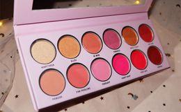 Peach Eyeshadow Australia - 2019 Newest The Valentine Palette Theroyal Peach Eyeshadow Palette 12 Colors Pressed powder eye shadow palette DHL Free Shipping