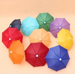 Umbrella Photography NZ - Mini Simulation Umbrella For Kids Toys Cartoon Many Color Umbrellas Decorative Photography Props Portable And Light