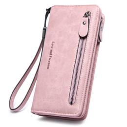 $enCountryForm.capitalKeyWord Australia - Wallet Female Pu Leather Wallet Leisure Purse Pink Style Bifold Top Quality Women Wallets Long Coin Purse Zip Clutch Carteras MX190718