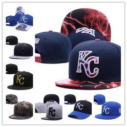 6ac31fa2b7c 2019 Fan s store Kansas City cap KC hat outlet sunhat headwear Snapback Cap  Adjustable All Team Baseball Ball Snap back snapbackS hats
