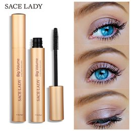 $enCountryForm.capitalKeyWord Australia - Black Eyelash Mascara Quick Dry Super Thick Curling Long-lasting Eye Make Up Fiber Lashes Natural Lengthening Brush Cosmetic Fast Ship