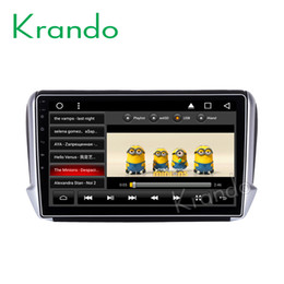 "$enCountryForm.capitalKeyWord Australia - Krando Android 8.1 10.1"" Big Screen Full touch car Multimedia player for PEUGEOT 208 2008 2011-2016 navigation system gps BT car dvd"