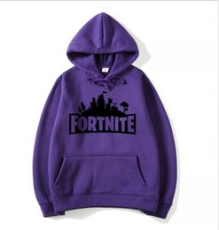 video game stand Australia - 2019 New Video Game Fortress Night Hats, Round Necks Guards Clothes Hoods Winter Clothes Direct Selling for Men and Women