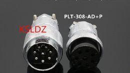 Industrial Connectors Australia - Free shipping lot (1 pieces lot)original New PLT APEX PLT-308-AD+P PLT-308-AD-R PLT-308-P-R 8PINS Aviation Plug and Socket Connector