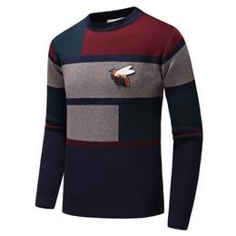$enCountryForm.capitalKeyWord UK - Men's Brand Fashion Letter Embroidery Knitwear Winter Men's Clothing Crew Neck Long Sleeve Sweater for Men Designer Hoodies New Arrivals #26