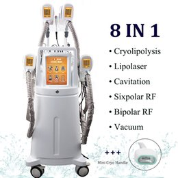 2019 Lipolaser Perfect Body Shaper Femme Homme Fat Removal Machine Laser Therapy Lipo Ultra Slim Cryolipolysis RF Cavitation Slim Équipement