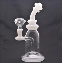 "oil rig matrix perc NZ - Glass Bong Dab Rig Water Pipes 8"" Tall Thick matrix Honeycomb Perc water Bongs Heady Mini Pipe Wax Oil Rigs with 14mm glass oil burner and"