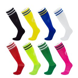 Badminton Towel Australia - New Training Football Soccer Socks Adult Children Long Tube Socks Towel Bottom Sports Sock Outdoor Running Skiing Cycling 17 Colors M116Y