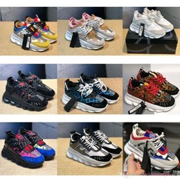 $enCountryForm.capitalKeyWord Australia - 2019 Hot Medusa Chain Reaction Brand Designer Sneakers Sport Fashion Running Outdoor Shoes Trainer Lightweight New-ver&sace Sole