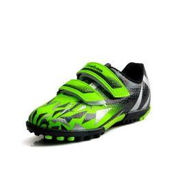 $enCountryForm.capitalKeyWord UK - Spring Kids Sneakers Children Football Shoes Breathable Boys Girls Trainer Blue Green Sport Shoes for Children