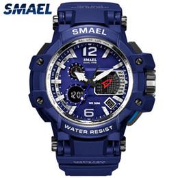 $enCountryForm.capitalKeyWord Australia - SMAEL Men's Sport Watches LED Digital Watch Men Waterproof Alarm Casual Analog Quartz Clock Men Gift Relogios Masculino