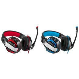 Head-mounted Gaming Headset Noise-Stop Earphone with LED Colored Light+ Mic for Nintendo PS4 Xbox Xbox One Laptop Computer from flower for decoration wholesale suppliers
