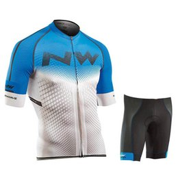 Summer Sportswear Suit Australia - 2019 NW Cycling Jersey set Short Sleeves Summer Set Bike MTB Clothing Ropa Ciclismo Cycle Clothing SportsWear uniformes Suit