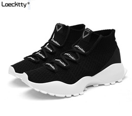 $enCountryForm.capitalKeyWord NZ - Loecktty Summer Men Socks Sneakers Beathable Mesh Male Casual Shoes Lace up Sock Shoes Loafers Boys Super Light Sock Trainers