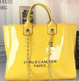 Wholesale 2019 brand fashion luxury designer bags Leather beach large cm women totes shopping totes bag PVC clear Jelly shoulder bags purse C966