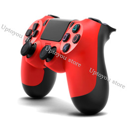 Chinese  In stock! PS4 Controller for PS4 Vibration Joystick Gamepad Wireless Bluetooth Game Controller for Sony Play Station With Retail box manufacturers