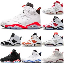 mens branded basketball shoes 2019 - 2019 Cheap Brand Mens basketball shoes  6s Maroon VI Angry a391bc2c5
