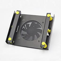 $enCountryForm.capitalKeyWord Australia - 3.5 SATA hard disk 5.25 Bay hard disk shock absorber bracket converter installation kit w w equipped with 8cm cooling fan