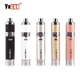 $enCountryForm.capitalKeyWord Australia - Yocan Evolve Plus XL Wax Pen Vaporizer Kit QUAD Coils 1400mAh Dab Vape Pen Ecigarette Vapor Kit Authentic 2019 New