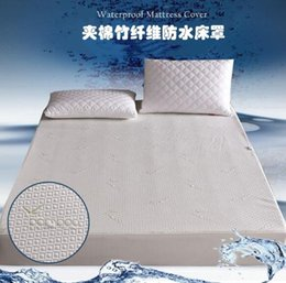 Solid Baby Bedding Australia - Waterproof mattress sleeve Quilted mattress cover Baby mattress waterproof bed cover for home and Hotel