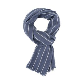 Striped Cotton Scarves Australia - Brand Winter Cotton Scarf Men Warm Soft Tassel Scarves Length: 190cm Plaid Warm Shawls Men Striped Scarves New Year Gift
