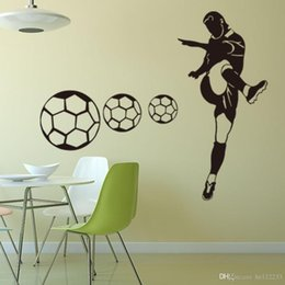 $enCountryForm.capitalKeyWord Australia - Football Sports Wall Stickers Wallpapers Waterproof PVC Wall Decals Murals Can Be Removable Self-adhesive Boy Bedroom Background Decoration