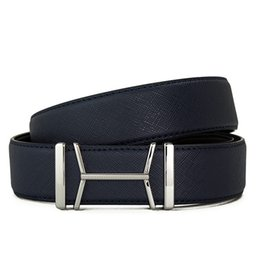 genuine designer leather belt 2019 - Luxury Designer Belts Unisex Solid Colors Real Leather Waistbands Jeans Waist Straps Men Women Fashion Hip Hop Trousers
