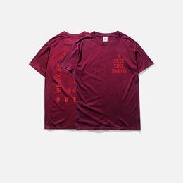 $enCountryForm.capitalKeyWord UK - men's t-shirts summer i feel like pablo Tee short Sleeve O-neck T-Shirt Kanye West Letter Print casual tees male clothing