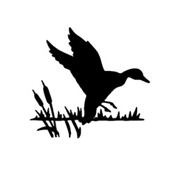 $enCountryForm.capitalKeyWord Australia - 15*13.9cm Duck Swamp Hunting Window Decal Sticker Funny Car Window Bumper Novelty JDM Drift Vinyl Decal Sticker