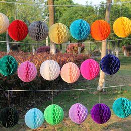 $enCountryForm.capitalKeyWord Australia - 5pcs 2'' 4'' 6'' 8'' Tissue Paper Honeycomb Ball Decorations Birthday Party Baby Shower Wedding Aniversary Home Xmas Supplies