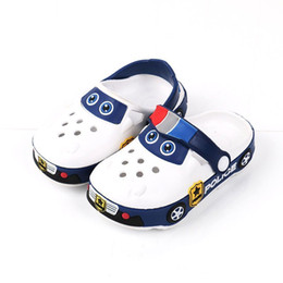 $enCountryForm.capitalKeyWord Australia - Baby Boys Girls Slippers Kids Cartoon Beach Sandals Summer Hollow Children's Shoes Y19062001