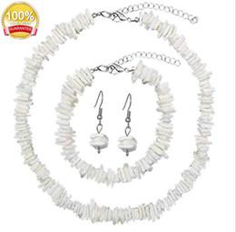 $enCountryForm.capitalKeyWord Australia - Puka Shell Necklace for Women Boho Tropical Hawaiian Beach Puka Chips Shell Surfer Choker Necklace Jewelry acc028